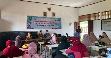 BKKBN Kaltim Lakukan Pembinaan dan Monev Pro PN Promosi dan KIE 1000 HPK Di Desa Himba Lestari, Kabupaten Kutai Timur